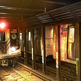 New York City Subway by Kay Brewer