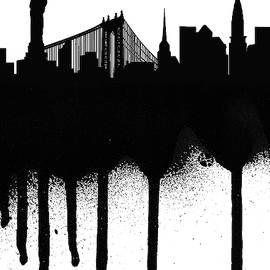 New York Spray Paint Graffiti by Tony Rubino