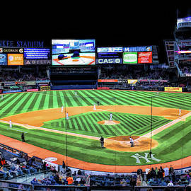 New York Yankees Baseball Ballpark Stadium by Christopher Arndt