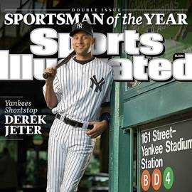 New York Yankees Derek Jeter, 2009 Sportsman Of The Year Sports Illustrated Cover