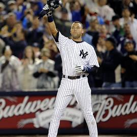 New York Yankees Derek Jeter Breaks Lou by New York Daily News Archive
