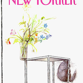 New Yorker Cover June 5 1989 by Ronald Searle