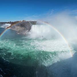 Niagara Falls Afternoon Rainbow