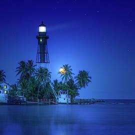 Night at Moonlight Cove by Mark Andrew Thomas