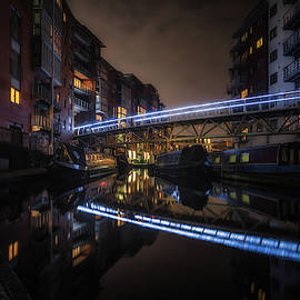 Chris Fletcher - Night In Sherborne Wharf Boat Park
