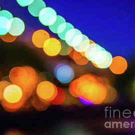 Night Lights Abstract Photography by Alissa Beth Photography
