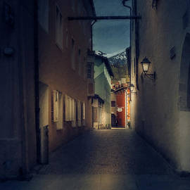 Night Street Lights by Flo Photography