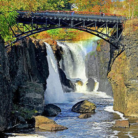NJ Great Falls - Autumn Awesome by Regina Geoghan