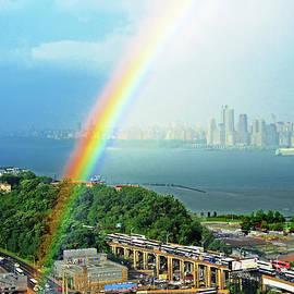 NJ-Hudson River Rainbow
