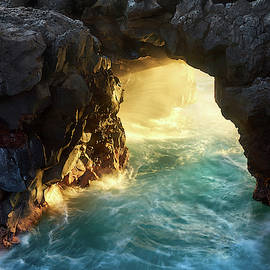 Noio Point Sea Arch by Christopher Johnson