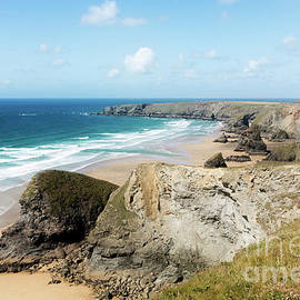 North Coast Of Cornwall Bedruthan Steps to Trevose by Terri Waters