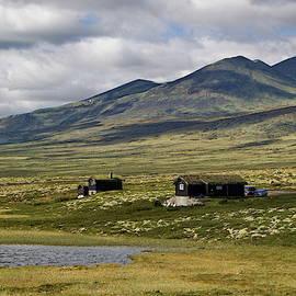 Norwegian cottages II by Ren Kuljovska