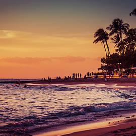 Nostalgic Romantic Sunset in Hawaii 0015 by Neptune - Amyn Nasser Photographer