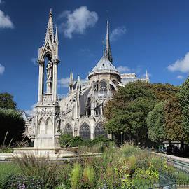 Notre Dame Garden by Jemmy Archer
