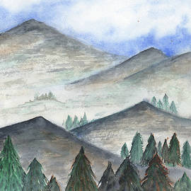 November Mountains by Betsy Hackett