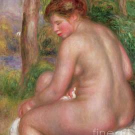 Nude, Back View, 1911 by Pierre Auguste Renoir