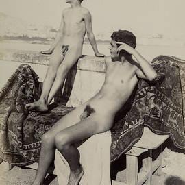 Guglielmo Pluschow - Nude Study-3