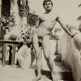 Guglielmo Pluschow - Nude Study-5