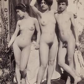 Guglielmo Pluschow - Nude Study