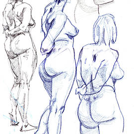 Nude Study by Mark Millicent