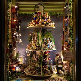 Nuremberg Christmas Window by Norma Brandsberg