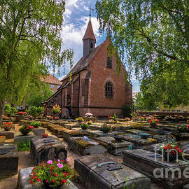 Nuremberg St. Johns Church by Norma Brandsberg