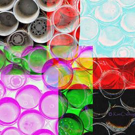 Nursery Pots Abstract by Kae Cheatham