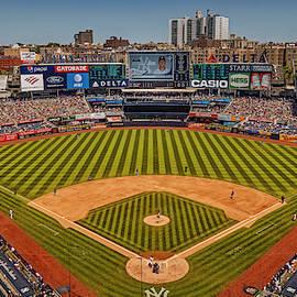 Ny Yankees Stadium by Susan Candelario