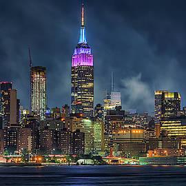 NYC skyline by Liran Eisenberg