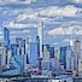 Nyc Skyline by Theodore Jones