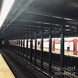 NYC Subway Tracks by Virginia Giblin