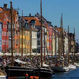 Nyhavn Waterfront In Copenhagen II by William Dickman