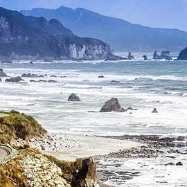 Nz Coastal Drive by Scott Kemper
