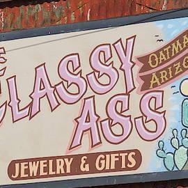 Oatman Arizona Sign 3 by Kay Novy