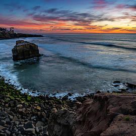 OB Winter Sunset by Scott Cunningham
