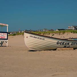 Ocean City Park Place Beach by Kristia Adams