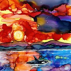 Ocean of colours by Yvonne Walther