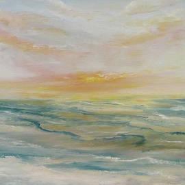 Ocean Sunset by Edward Theilmann