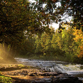 Ocqueoc Falls by Allyson Schwartz