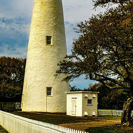 Ocracoke Lighthouse at Dusk by Norma Brandsberg