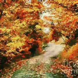 October Road by Autumn Moon