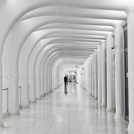 Oculus Transit Hub Wtc Hallway by Susan Candelario
