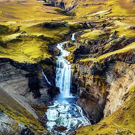 Ofaerufoss Waterfall 1 by Miles Whittingham