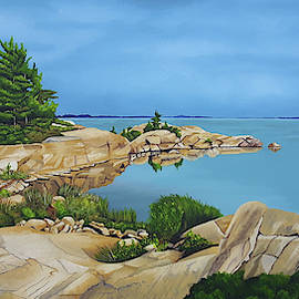 Off The Bay by Ronald Wilkie