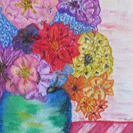 Offset Flower Vase by Bradley Boug