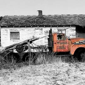 Old Abandoned Truck by Jerry Abbott