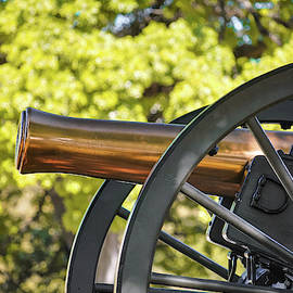 Old Brass Cannon - Texas Capital Building - Austin by Gregory Ballos