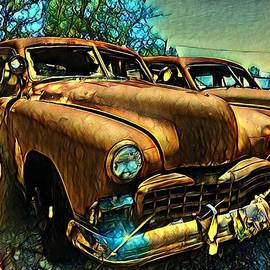 Car Junkyard by Sage Photography