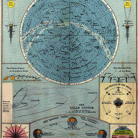 Old Chart Of The Heavens by Belterz