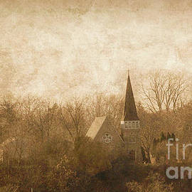 Old Church On A Hill  by Jim Lepard